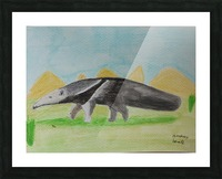 Anteater Picture Frame print