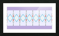 Pastel Pattern 1 Picture Frame print
