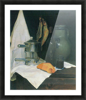Still Life with Herrings by Felix Vallotton Picture Frame print