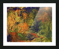 Spring Thaw Picture Frame print