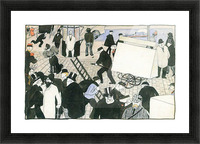 Street scene -1- by Felix Vallotton Picture Frame print