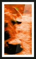 Büffeln Picture Frame print