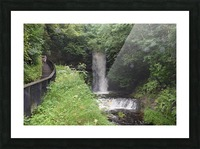 GLENCAR WATERFALL Picture Frame print