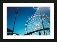 Ferris wheel Picture Frame print