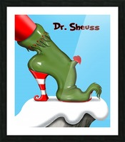 dr_sheuss_36in Picture Frame print