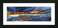 Sun Salutations Picture Frame print