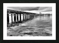 Dark Pier Impression et Cadre photo