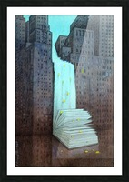 dream book Picture Frame print