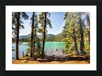 Devil's Lake Picture Frame print