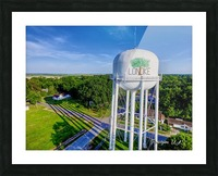 Lonoke, AR | Water Tower Picture Frame print