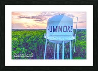 Humnoke, AR | Water Tower Picture Frame print