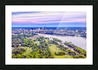 Little Rock, AR | Skyline Picture Frame print