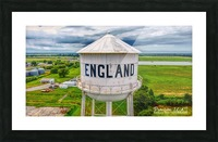 England, AR | Water tower Picture Frame print