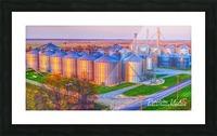 Carlisle, AR | Kittler Grain Bins  Picture Frame print