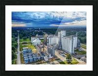 Lonoke, AR | Early morning Virga Picture Frame print