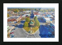Lawrenceburg, TN | The Old Square Picture Frame print
