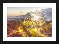 Lonoke, AR | 4th of July Picture Frame print