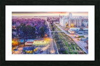 Lonoke, AR | West down Hwy 70 Picture Frame print
