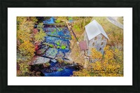 Leoma, TN | Wilburn Grist Mill Picture Frame print