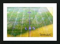 Lonoke, AR   Rabs Field Artistic Picture Frame print