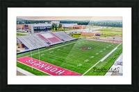 Maumelle, AR | Hornets Football Stadium Artistic  Picture Frame print