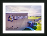 England, AR   Lions Field House & Stadium Picture Frame print