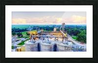 Carlisle, AR   Peeking over Rivianna  Picture Frame print