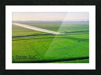 Carlisle, AR   Crop Duster Artistic Picture Frame print