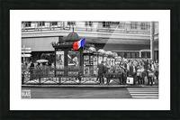 Paris - Newsstand Picture Frame print