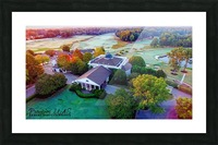 Westpoint, MS   Old Waverly Golf Course Picture Frame print