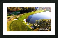 Westpoint, MS   The 18th Hole Picture Frame print