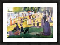 Sunday at La Grande Jatte by Seurat Picture Frame print