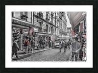Streets of Paris - Montmartre Picture Frame print