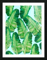 Tropical and exotic pattern II Picture Frame print