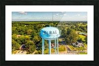 McRae, AR | Water Tower Picture Frame print