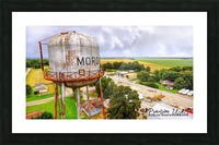 Moro, Ar   Water Tank Picture Frame print