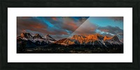 CanmoreSunrise Picture Frame print