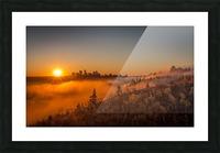 Calgary Sunrise Picture Frame print