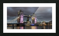 Tower Bridge at Night Picture Frame print