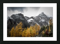 Temple Mountain Picture Frame print