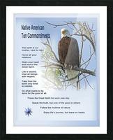 NativeTenCommandments2 Impression et Cadre photo