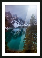 Moraine Lake  Picture Frame print