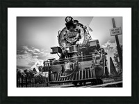 Heritage Train Picture Frame print