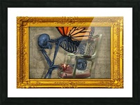 Emptiness is Balance 4 Picture Frame print