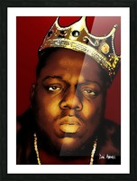 Biggie Smalls aka Notorious B.I.G Picture Frame print