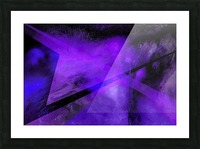 Geometric Abstract B Picture Frame print