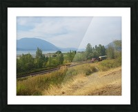 Smoky Mountains Picture Frame print