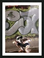 Graffiti Dawg Picture Frame print