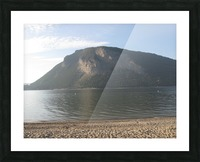 Mount Ida On The Beach Picture Frame print