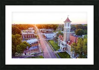 Clarendon, AR | Monroe County Courthouse Picture Frame print